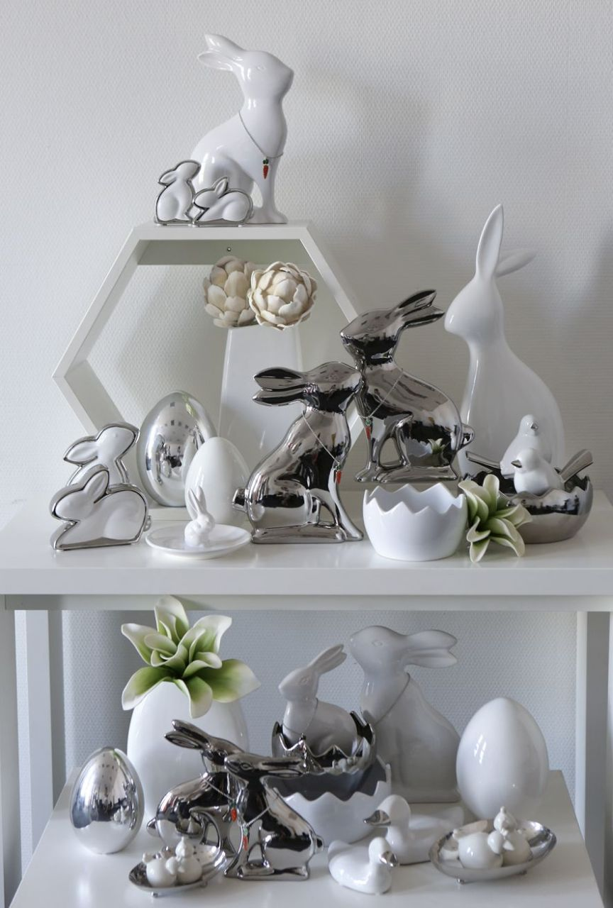 Decoration tips for casablanca design items for Deko wohnzimmer silber